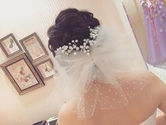 結婚式で着けたい花嫁ヘアオーナメントまとめ | marry[マリー]
