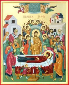 MYSTAGOGY: How the Icon of the Dormition Shows the Mystery of the Church