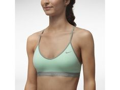 Check it out. I found this Nike Favorites Women's Sports Bra at Nike online.