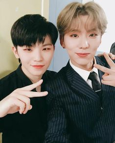 171122 #SEVENTEEN Instagram Update - Woozi and Monsta X Kihyun *birthday boys 1122*   #VOBOWOOZIday #KYUNSTERDAY