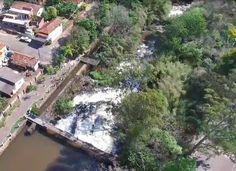Parque dos Saltos no Centro da Cidade de Brotas - SP