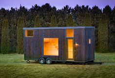 The Escape One is built by a company with over 25 years of experience designinghigh-end tiny houses known for their unique stylingand light, airy interiors. Escape is based out of Rice Lake in Wisconsin, they have their own RVIA Certified plant, and all of their units are designed for extreme climates – including heavy snow,...