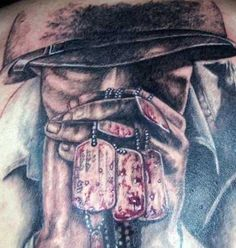 soldier memorial tattoo | Pin For My Fallen Soldiers – Military Tattoos Militarycom on ...