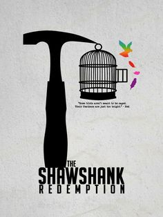 First upload in a while. I'm loving the minimalist style of movie posters at the moment so I thought I'd make one myself of one of my favourite movies! The Shawshank Redemption! More to come as I h...
