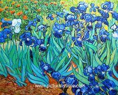 Vincent van Gough  -  Irises - Google Image Result for http://www.picturalissim.com/t/van_gogh_les_iris.jpg