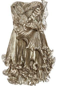 Silver Hollywood Dress