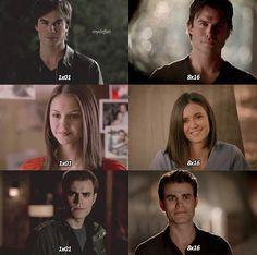 Damon, Stefan & Elena Ian,       Paul,   & Nina ❤