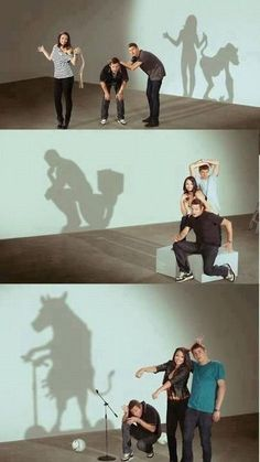 In this picture, it is evident that shadows are not always what they seem. Shadows seem to distort the truth. In the novel, shadows are a prime example of how distorted truth and obscurity are symbolized.