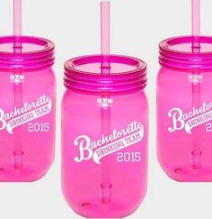 Bachelorette Drinking Team Sipping Jar
