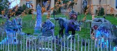 Here's a new twist you can add to your graveyard: Graffiti! Adding graffiti can help make your graveyard transform from the traditional classic Victorian to a gritty, urban one that could fit perfectly in a post-apocalyptic or zombie outbreak-type haunt.Here's the tutorial video that will give you a quick grasp of how to achieve this look:It's a dramatic change but remember - you can change it back.Materials and Tools Needed:Dual action airbrush like this: http://www.iwa