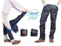 VEAR is raising funds for VEAR - The New Standard for Rain Pants (With 12 Features) on Kickstarter! A premium pair of rain pants, with so many features, that the whole list could not fit in this short description. https://www.kickstarter.com/projects/vear/vear-the-new-standard-for-rain-pants-with-12-featu