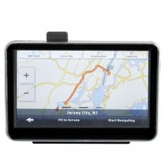 """Car GPS    Navigator Built    USA & Canada & Mexico Map 5.0"""" TFT Touch Screen Car GPS Navigator with a high 480 x 272 resolution of display, which will bring you unbelievable feeling of route guide and video enjoyment. Street names and traffic info announced by your device, so you can focus on the road ahead. Electronic Items, Street Names, Jersey City, Long Distance, Mexico, Canada, The Incredibles, Memories, Car"""