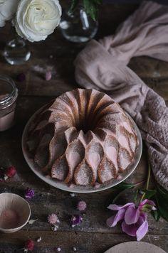 Coco and Vanilla Bundt Cake Cardamom and Rose // Cardamom & Rose Bundt Cake
