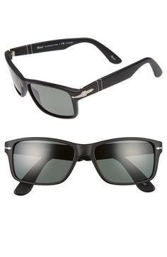 Persol 58mm Rectangle Sunglasses available at #Nordstrom