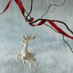 Leaping Reindeer Decoration // Animal Christmas Trend // Graham & Green  #animal #christmasanimal #festiveanimal #christmastree #christmasdecoration #treedecoration #christmas #festive #decoration #homedecor #kitsch #grahamandgreen