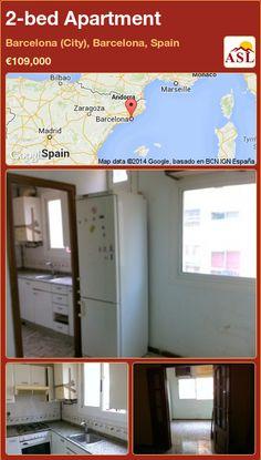 2-bed Apartment in Barcelona (City), Barcelona, Spain ►€109,000 #PropertyForSaleInSpain