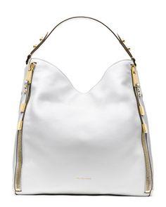 Michael Kors Miranda Zipper Shoulder Bag. pretty good!!