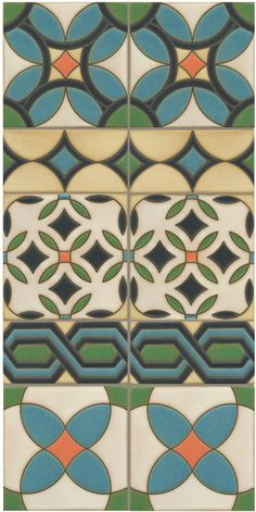 Malibu inspired tile for outdoor or indoor use. Native Collection. #madeinUSA