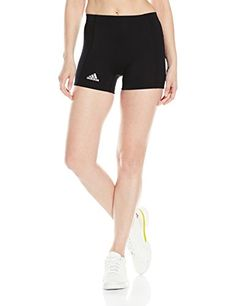Adidas 4-inch Compression Short. Made for comfort and breathability. Made for athletes by Adidas. #dansbasketball #basketball #adidas #compression #fashion #short #afflink