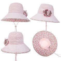 Siggi Bucket Boonie Cord Fishing Beach Cap Summer Sun Hat Wide Brim for Women Pink Summer Hats For Women, Caps For Women, Barbie, Caps Hats, Women's Hats, Wide-brim Hat, Beach Trip, Cord, Bucket