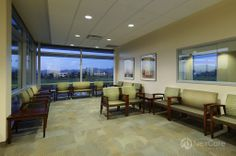 NorthBay Healthcare, Green Valley Health Plaza, Waiting Room for Primary Care Clinic on the Second Floor