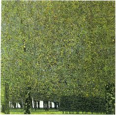 Gustav Klimt, The Park 1909 -1910