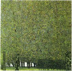 Gustav Klimt, The Park 1909 -1910