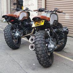 OVERBOLD MOTOR CO. — #Repost @badassmotostore  ・・・  Seen on @kevils1...