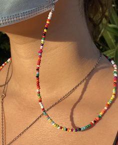 Beaded Anklets, Beaded Jewelry, Beaded Bracelets, Handmade Wire Jewelry, Jewellery, Diy Bracelets Easy, Bracelet Crafts, Pulseras Kandi, Homemade Jewelry