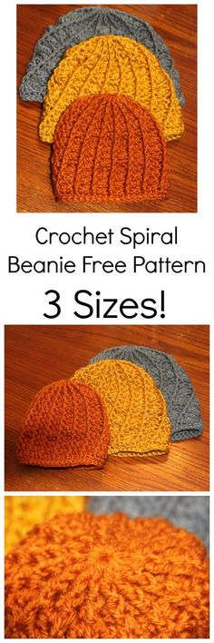 dc78a9cdca0 Crochet Texture Beanie 3 sizes Baby Toddler Adult -