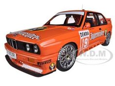 "BMW M3 DTM 1992 ""JAGERMEISTER"" HAHNE 19 1/18 DIECAST CAR MODEL BY AUTOART"