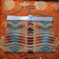 Vintage 1930's Art Deco Woven Purse by LuminousLadyVintage on Etsy, $48.00