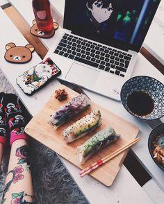 food, anime, and nekomatahime image