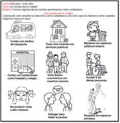 Comics, School, Socialism, Spanish, Social Studies, Science For Children, Human Development, First Grade, Knowledge