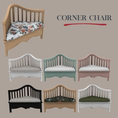 Leo 4 Sims: Corner chair • Sims 4 Downloads