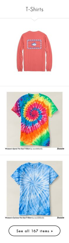 """""""T-Shirts"""" by mmadss ❤ liked on Polyvore featuring tops, t-shirts, shop, checked shirt, tiedye t shirts, tie die t shirt, tie-dye shirts, tie dye shirts, tye dye t shirts and tie dyed t shirts"""
