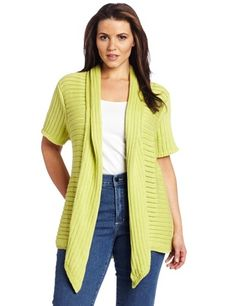 Pure Handknit Women's Plus-size Runaway Cardigan Sweater Pure Handknit. $86.25. Made in Thailand. 100% cotton. Hand Wash. This easy-fit cardigan will take you from dropping the kids off at camp to lunch with your girlfriends
