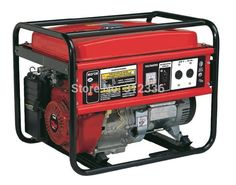 Portable Generator 3500 2.5kw 168F GX200 Recoil starting OHV 6.5hp single phase 220V 50Hz