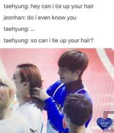 Lol I can see V doing that