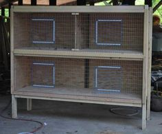 This would make a nice winter time brooder too.