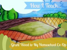 See how I take any art lesson and make it easy to teach my homeschool co-op.