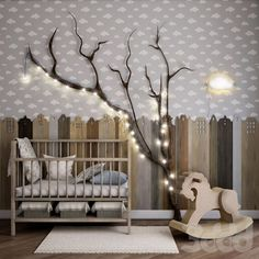 Prediction of tree nursery trends for 2018 You do not want to fade - MyBabyDoo - Kinderzimmer - Baby Room Ideas