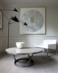 Serene space Great coffee table