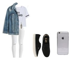 """Sem título #69"" by isaa-swag ❤ liked on Polyvore featuring VILA, Madewell, Vans and Chibi Jewels"