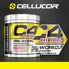 The BEST pre-workout/fat burning combo! Check out Cellucor's award winning products.