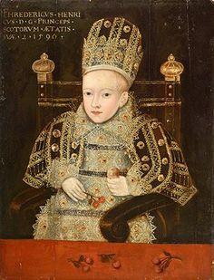Prince Henry (Stuart) of England and Scotland as an Infant, unknown artist, 1596 Tudor History, European History, British History, Asian History, Ancient History, Renaissance, Adele, House Of Stuart, Elisabeth I