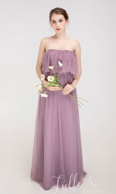 Off the shoulder bridesmaid dress with ruffle sleeves TBQP543#wedding #weddinginspiration #bridesmaids #bridesmaiddresses #bridalparty #maidofhonor #weddingideas #weddingcolors #tulleandchantilly