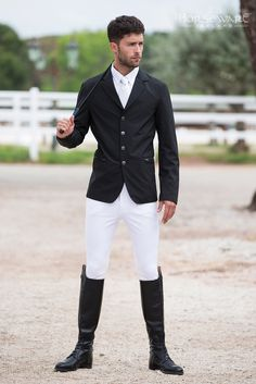 ~ Living a Beautiful Life ~ Horseware Competition Collection S/S15: NEW Mens woven competition jacket