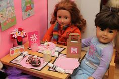 Creating an American Girl Doll Diner!