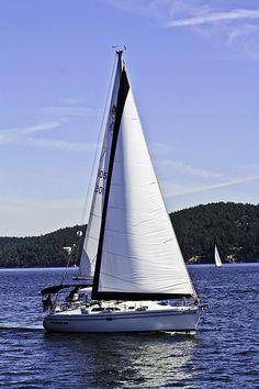 Sailing around Vancouver Island, B.C. in Canada